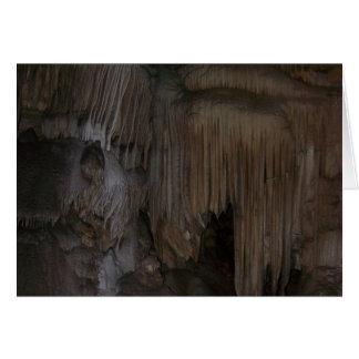 Crystal grotta hälsningskort