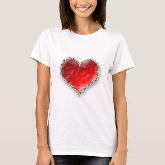 Crystal hjärta tshirts