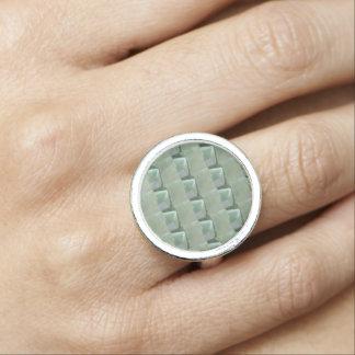Crystal stenar pryder med ädelsten datummärkning ringar