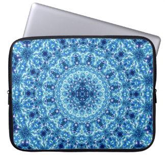 Crystal strålglansMandala Laptop Sleeve