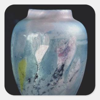 """Crystal vas, """"Les Veilleuses d'Automne"""", 1891 Fyrkantigt Klistermärke"""