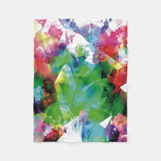 Crystaline ullfilt för abstrakt 5 fleecefilt