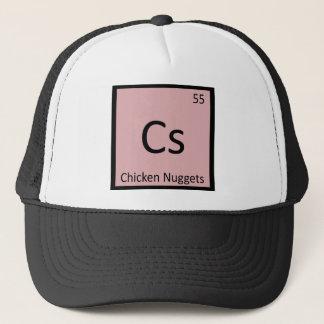 Cs - fegt symbol för klumpaptitretarekemi keps