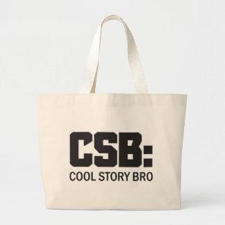 CSB: Kall berättelse Bro Tote Bag