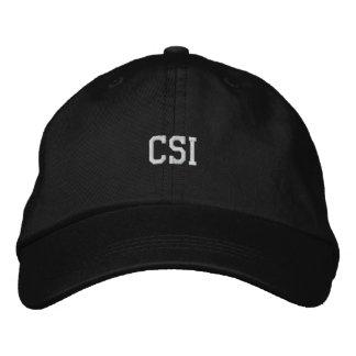 CSI broderad hatt