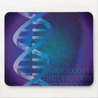 CSI-DNA identifierar med fingeravtryck Musmattor