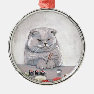 ©CSiravo för SushikattHerr Grumps Julgransprydnad Metall