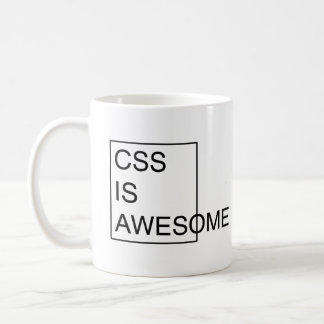 CSS ÄR DEN ENORMA muggen Kaffemugg