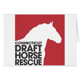 CT formulerar hästen som den tomma räddingen Hälsningskort