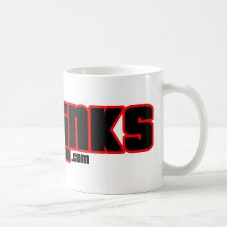 CTGLINKS-kaffemugg v2 Vit Mugg