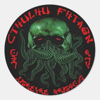Cthulhu Fhtagn klistermärke