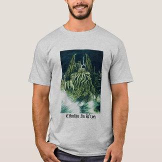 Cthulhu i den R'lyeh skjortan T-shirts