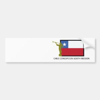 CTR för Chile Concepcion södra beskickning LDS Bildekal