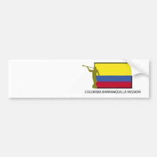 CTR för Colombia Barranquilla beskickning LDS Bildekal