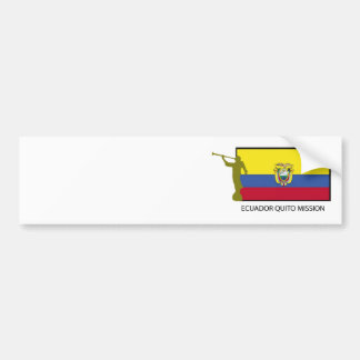 CTR för Ecuador Quito beskickning LDS Bildekal