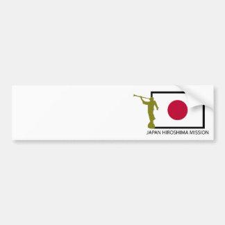 CTR FÖR JAPAN HIROSHIMA BESKICKNING LDS BILDEKAL