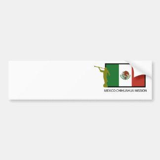 CTR FÖR MEXICO CHIHUAHUABESKICKNING LDS BILDEKAL