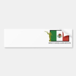 CTR FÖR MEXICO GUADALAJARA BESKICKNING LDS BILDEKAL