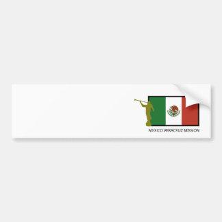 CTR FÖR MEXICO VERACRUZ BESKICKNING LDS BILDEKAL