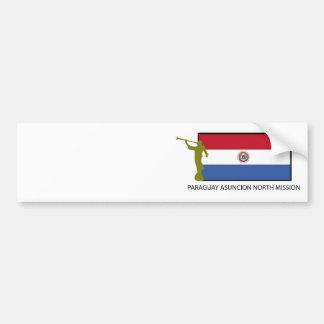 CTR för Paraguay Asuncion norr beskickning LDS Bildekal