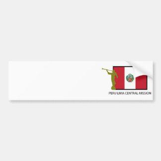CTR FÖR PERU LIMA CENTRABESKICKNING LDS BILDEKAL