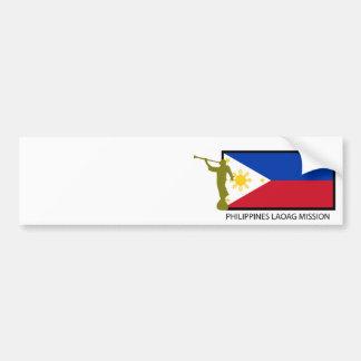 CTR FÖR PHILIPPINES LAOAG BESKICKNING LDS BILDEKAL