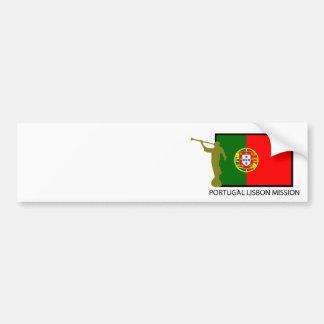 CTR FÖR PORTUGAL LISBON BESKICKNING LDS BILDEKAL