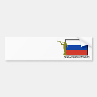 CTR FÖR RYSSLAND MOSCOW BESKICKNING LDS BILDEKAL