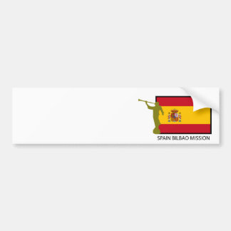 CTR FÖR SPANIEN BILBAO BESKICKNING LDS BILDEKAL