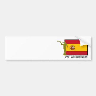 CTR FÖR SPANIEN MADRID BESKICKNING LDS BILDEKAL