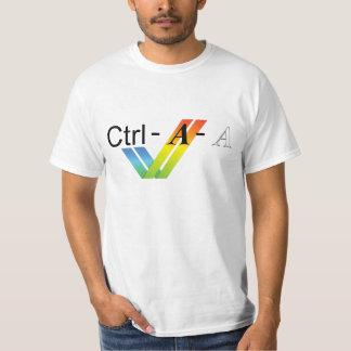 Ctrl-Alt-Del för Amiga användare T Shirts