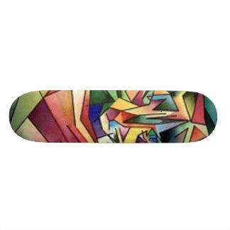Cubism Mini Skateboard Bräda 18,7 Cm
