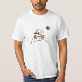 CubistApollo elva Lunar enhet Tshirts