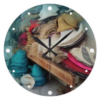 Cuenca Ecuador hattfabrik Stor Klocka