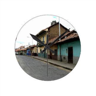 Cuenca Ecuador Rund Klocka