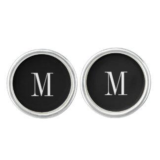 Cufflinks - initial svart- & vitmod
