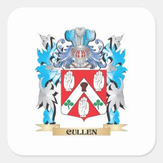 Cullen vapensköld - familjvapensköld fyrkantigt klistermärke