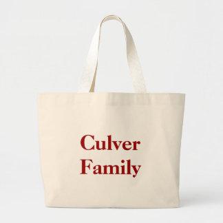 Culver familj jumbo tygkasse