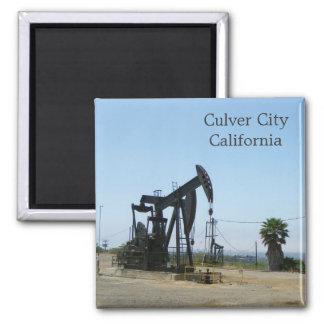 Culver stad/oljeplattformmagnet!