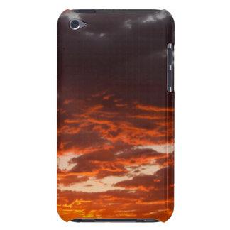 Cumulusen fördunklar på soluppgången. Fremont iPod Touch Covers