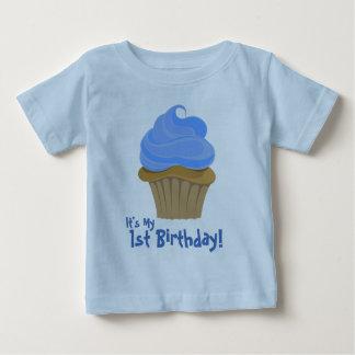 CupcakeBlue är det mitt, den 1st födelsedagen! Tee Shirt