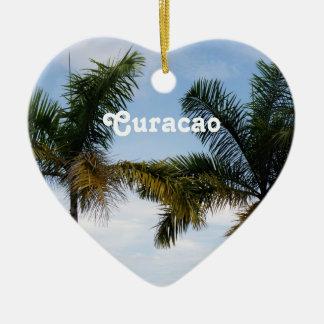 Curacao Julgransprydnad Keramik