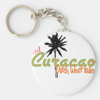 Curacao Rund Nyckelring