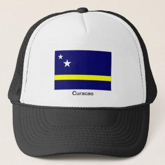 Curacao sjunker souvenirhatten truckerkeps