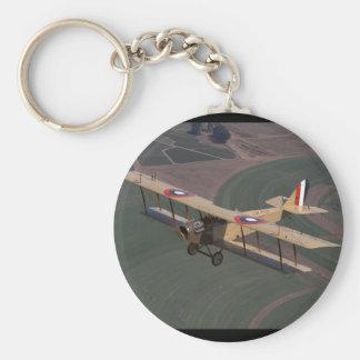Curtiss Jenny, 1918, _Classic flyg Rund Nyckelring