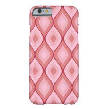 Curvy ovala geometriska   rosor barely there iPhone 6 skal