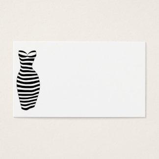 Curvy randar visitkort