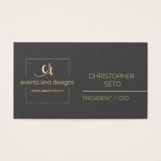 Custom Business Card for Client Visitkort