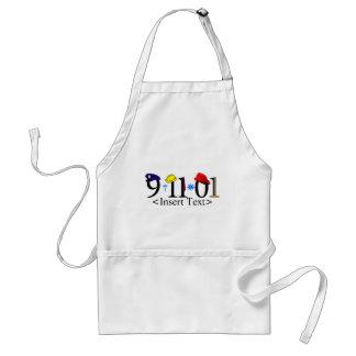 Customizeable 9-11-01 förkläde