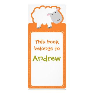 Customized*Sheep bokmärkenbok Reklamkort